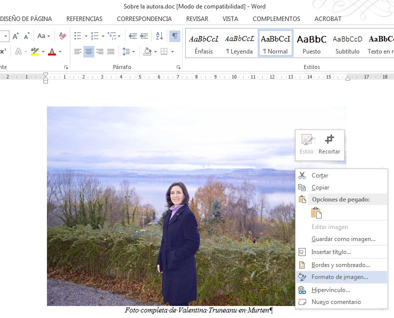 cómo insertar imágenes en doc