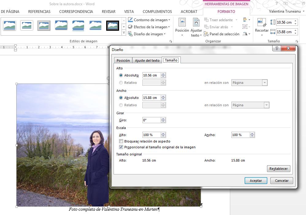 cómo insertar imágenes en docx