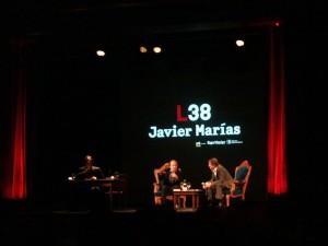 Javier Marías en discusión con Res Strehle