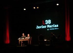 Javier Marías Lectura en Zúrich