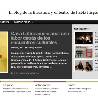 Helvetia Hispánica es el blog de Valentina Truneanu