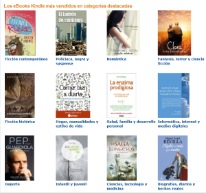 bestsellers ebooks kindle