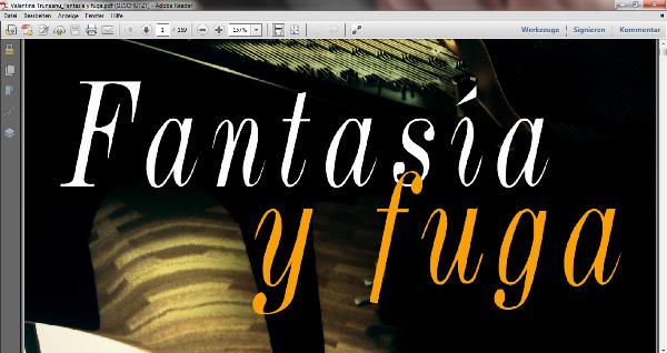 Inicio Fantasía y fuga PDF
