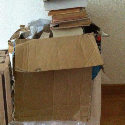 ¿Qué hacer con los libros guardados en casa?