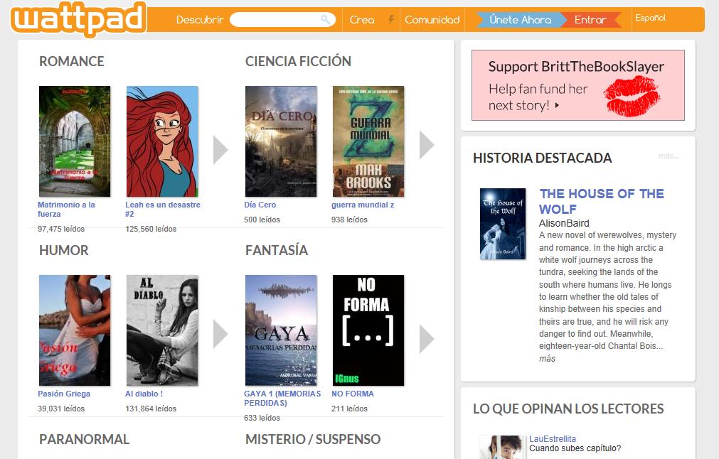 Cuánto cuesta publicar un libro gratis en Wattpad