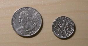 centavos de dólar