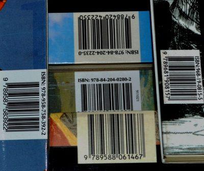 códigos de ISBN