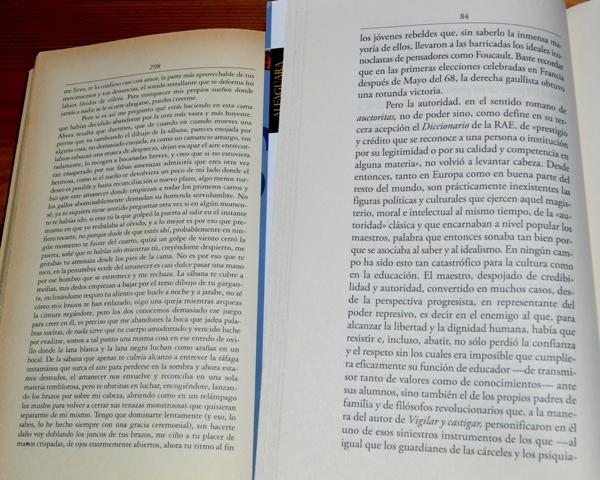 Dos libros de Alfaguara