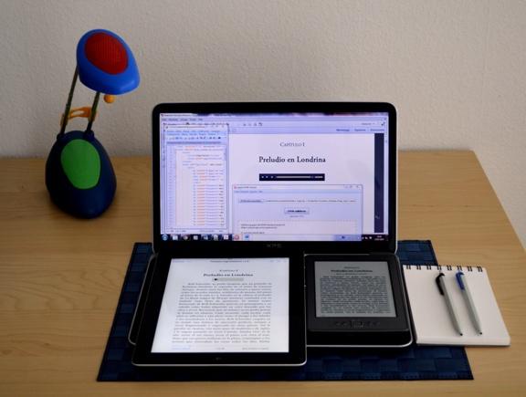 Servicios de maquetación de libros electrónicos