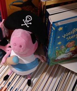 pirata con libros