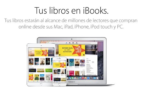 Presentación de iBooks
