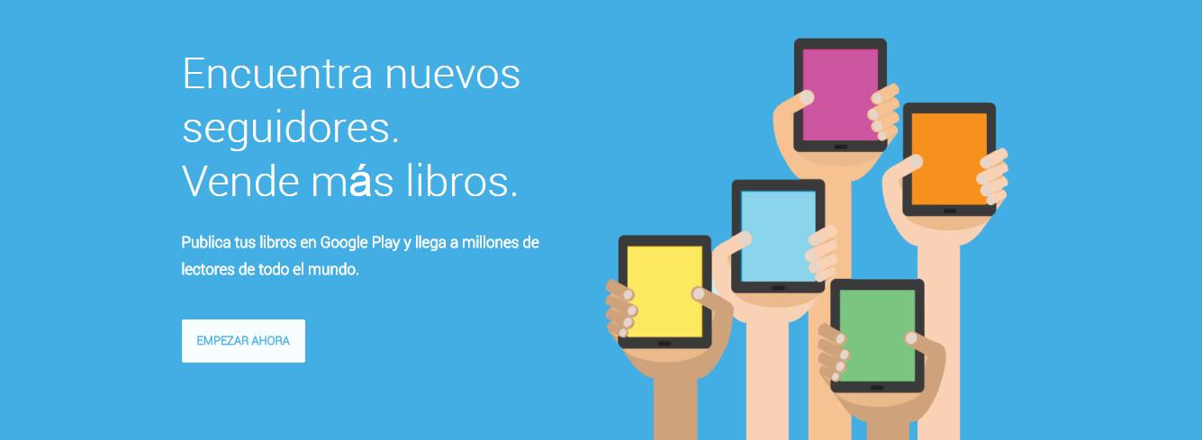 Centro de afiliados de Google Play Libros