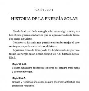 Energía solar para todos (capítulo 1)