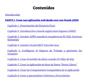 Contenidos_Oracle APEX 5.1.
