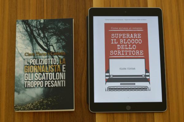 Dos libros de Clara Tiscar traducidos al italiano